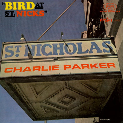 Charlie Parker | Bird At St. Nicks | Fantasy 6012 | LP&CD