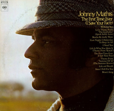 Johnny Mathis | The First Time Ever (I Saw Your Face) | Columbia KC-31342 | LP&CD
