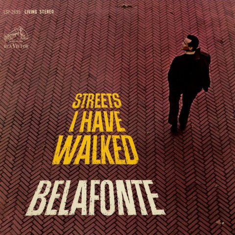 Harry Belafonte | Streets I Have Walked | RCA Victor LSP-2695 | LP&CD