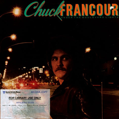 Chuck Francour | Under The Boulevard Lights | EMI America SW-17032 | LP&CD