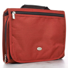 Polyester Tri-fold Organizer in Red Bible Cover