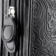 Purse-style with Black Swirls Bible Cover