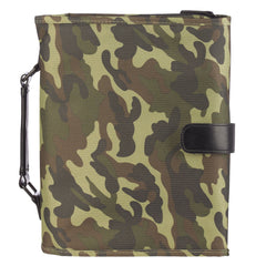 Camouflage Tri-Fold Organizer Bible Cover