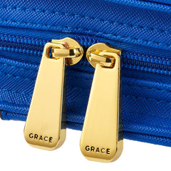 Purse-Style Amazing Grace in Blue Bible Cover