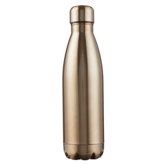 Saved by Grace Gold Stainless Steel Water Bottle - Ephesians 2:8