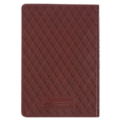Brown Faux Leather KJV Compact Bible