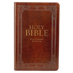 KJV Bible Standard Size in Burgundy