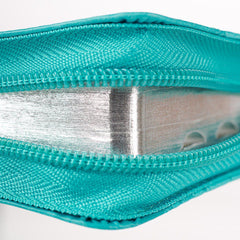 Turquoise Faux Leather Zippered KJV Deluxe Gift Bible with Thumb Index