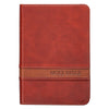 KJV Bible Large Print Compact in Brown