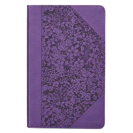 Purple Faux Leather Giant Print King James Version Bible