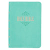 Teal KJV Bible Large Print Compact