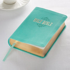 KJV Bible Large Print Compact in Teal