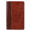 Brown Quarter-bound Faux Leather Giant Print King James Version Bible