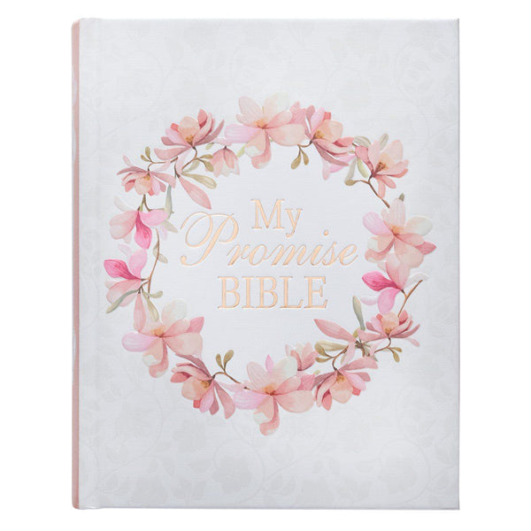 Journaling Bible in Hardcover Pink KJV My Promise Bible