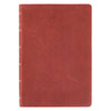 Burgundy Top Grain Premium Leather Super Giant Print King James Version Bible