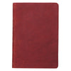 Burgundy Premium Leather Large Print Compact King James Version Bible