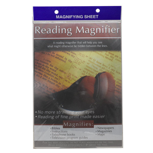 Magnifying Sheet Page