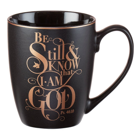 Shimmer Collection, Be Still Psalm 46:10 Coffee Mug