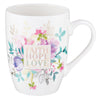 Faith Hope Love Ceramic Coffee Mug