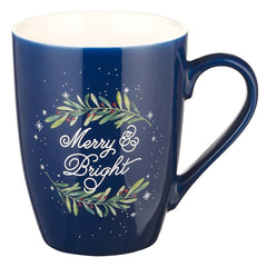 Merry & Bright Ceramic Christmas Mug