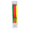 4 Piece Assorted Colors Jumbo Bible Markers with Sharpener