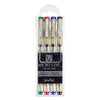Micro-Line Color Pens Veritas Set of 4