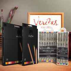 Veritas Micro-Line Color Pens - Set of 4