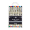 Micro-Line Color Pens Veritas Set of 8
