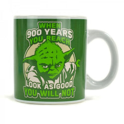STAR WARS YODA 'WHEN 900 YEARS YOU REACH' BOXED MUG