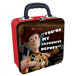 "'WOODY', ""YOUR MY FAVOURITE DEPUTY"" TOY STORY TIN TOTE"