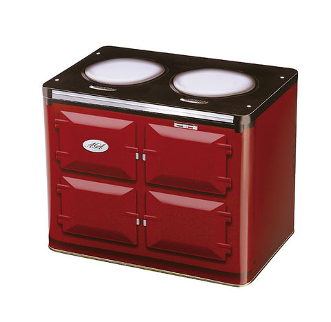 AGA STORAGE TIN IN CLARET OR CREAM