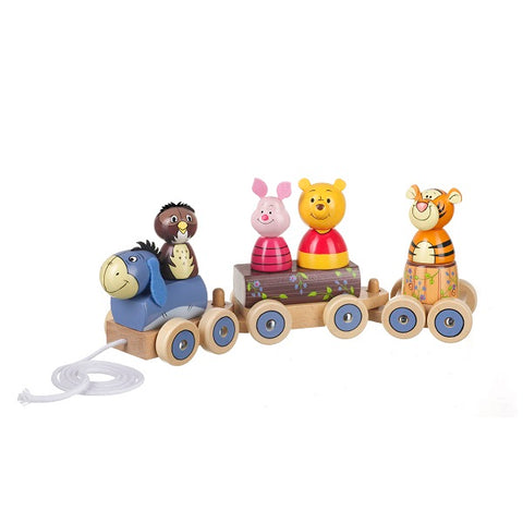 WINNIE THE POOH AND FRIENDS PUZZLE TRAIN