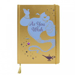 ALADDIN GENIE AS YOU WISH A5 NOTEBOOK