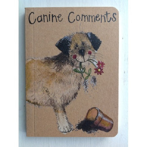 CANINE COMMENTS SMALL NOTE BOOK