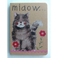 MIAOW CAT SMALL NOTE BOOK