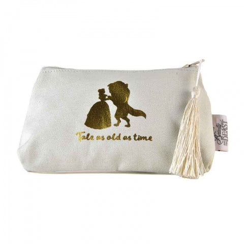 BEAUTY AND THE BEAST COSMETIC BAG