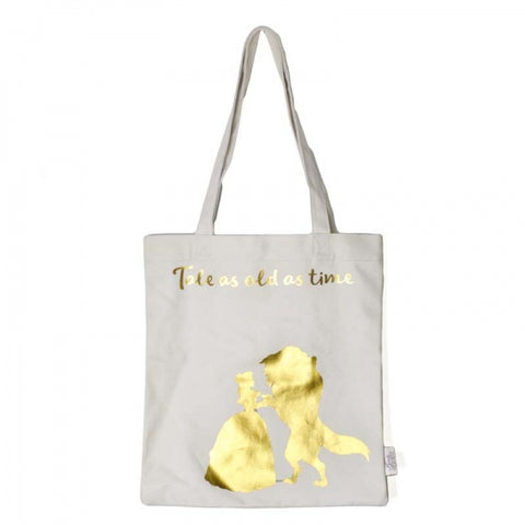BEAUTY AND THE BEAST 'TALE AS OLD AS TIME' TOTE BAG