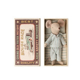 MAILEG BIG BROTHER MOUSE IN MATCHBOX