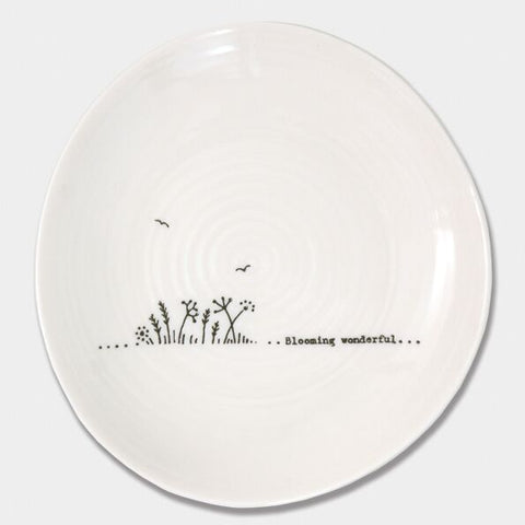 'BLOOMING WONDERFUL' WOBBLE PLATE