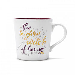HARRY POTTER BRIGHTEST WITCH TAPERED MUG