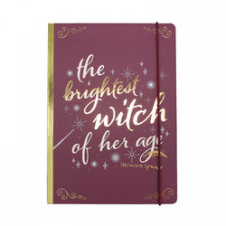 HARRY POTTER BRIGHTEST WITCH A5 NOTEBOOK