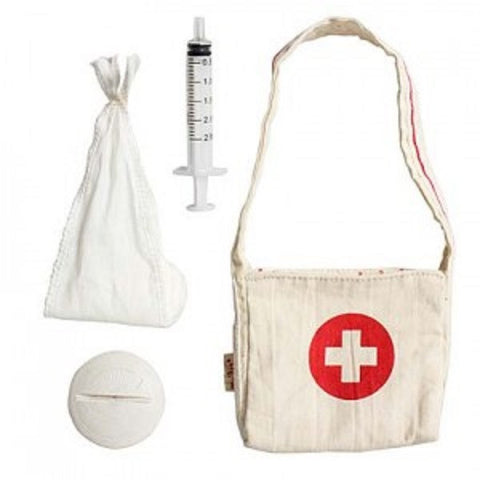 BUNNY FIRST AID BAG WITH MEDICINE KIT