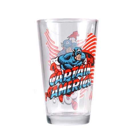 CAPTAIN AMERICA LARGE GLASS