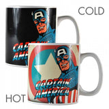 MARVEL CAPTAIN AMERICA HEAT CHANGING MUG