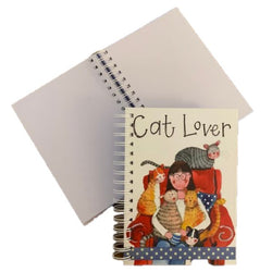 CAT LOVER SPIRAL NOTEBOOK