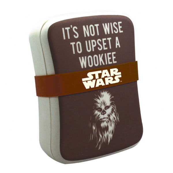 STAR WARS CHEWBACCA BAMBOO LUNCH BOX
