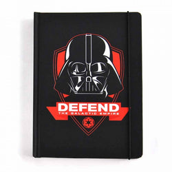 STAR WARS DARTH VADER 'DEFEND THE GALACTIC EMPIRE' A5 NOTEBOOK