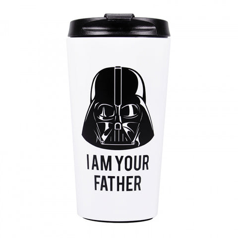 STAR WARS DARTH VADER I AM YOUR FATHER TRAVEL MUG