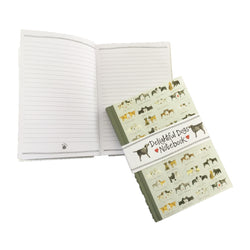 DELIGHTFUL DOGS HARDBACK NOTEBOOK