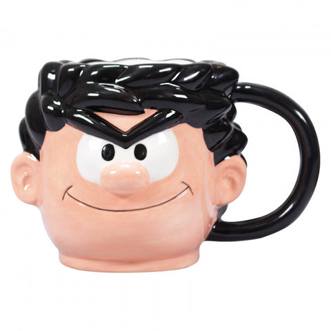 BEANO DENNIS THE MENACE SHAPED MUG